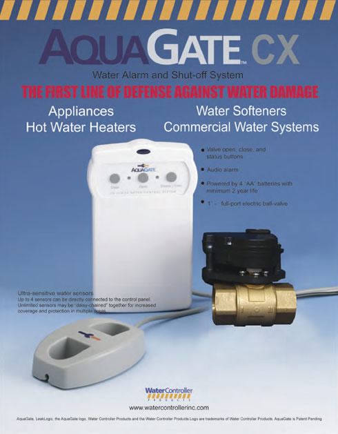 Aqua Gate Water Alarm & Shut-Off System