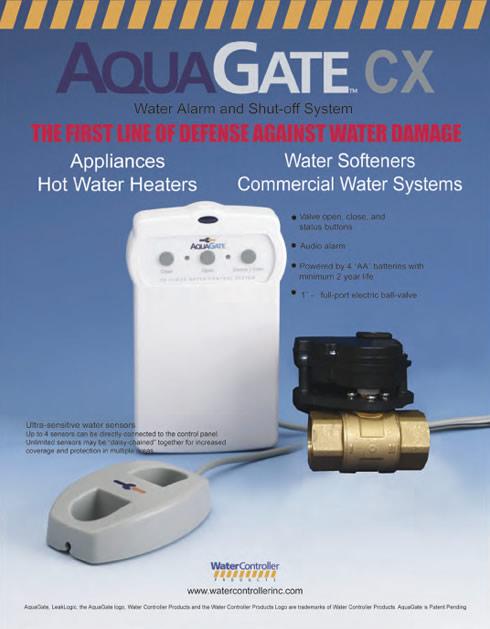 Aqua Gate Water Alarm & Shut-Off System