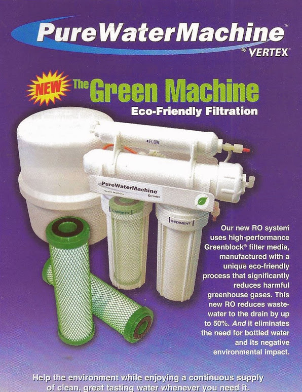 The Green Machine: Eco-Friendly Filtration