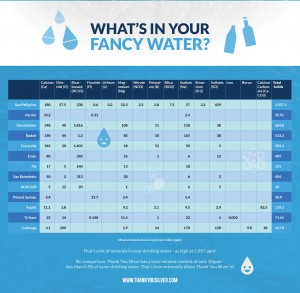 What's In Your Fancy Water