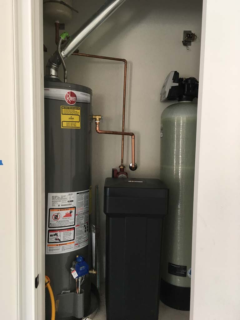 Rheem Heater and Hellenbrand DMT