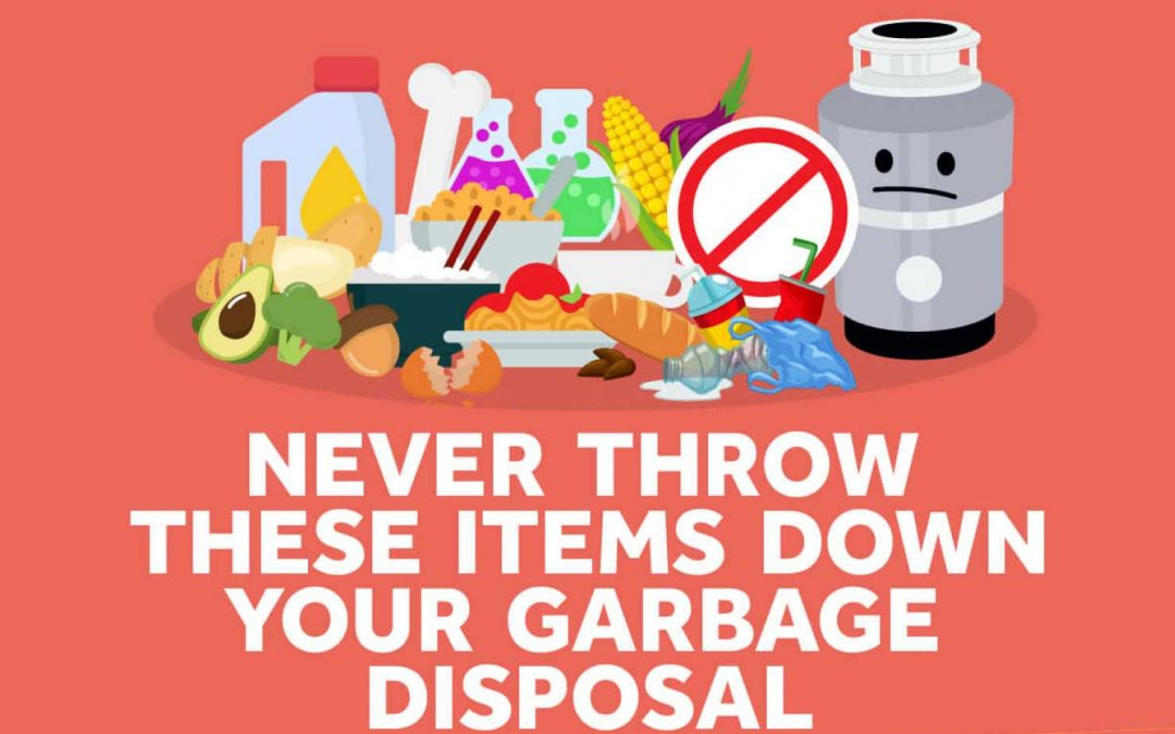 Things NOT to Put in Your Garbage Disposal